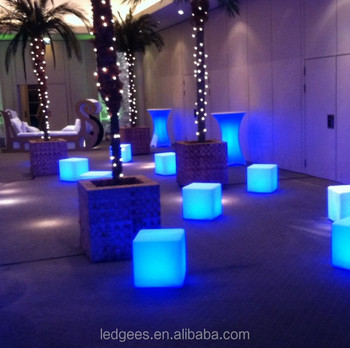 LED Light Box Chair,LED Party Chair,led Cube Lighting Chair Led Light Cube