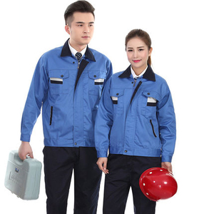 Mechanic Gas Station Uniform Working Uniform Sets for Engineer Overalls Suit