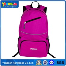 China factory supplier folding nylon backpack
