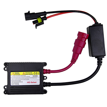 Slim HID 55W Xenon Replacement Electronic Digital Conversion Ballast Kit Ignition Unit Block for Automobiles Car 12V