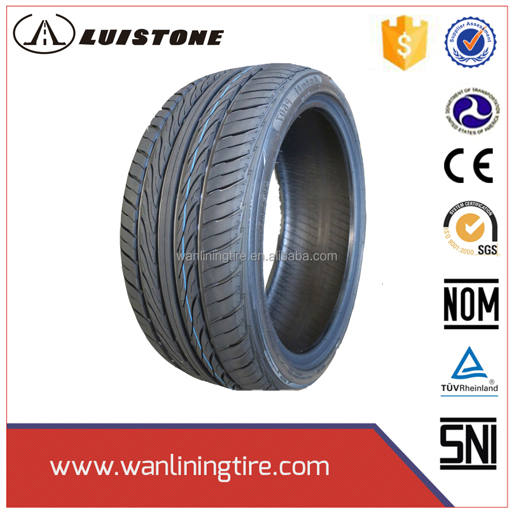 china Luistone brand pcr car tires 195 60r14 dk318 pattern tyres with dot ece certificates