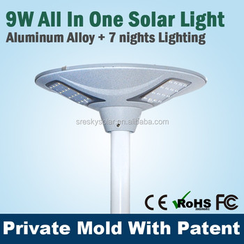 Integrated Prices Of Solar Street Lights Led For Courtyard Plaza ...