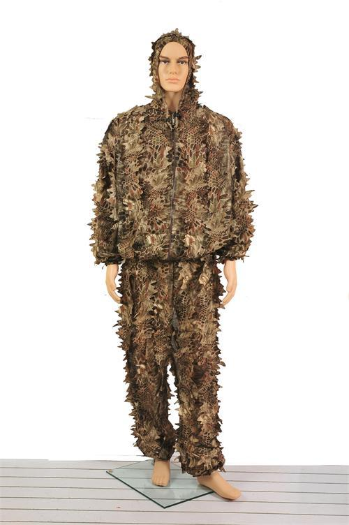 camo ghillie suit/desert hunting clothing/camouflage sniper ghillie suit