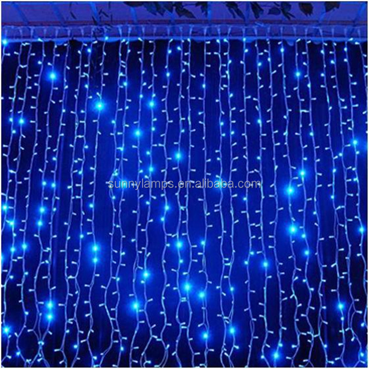 Twinkle Star 300 LED Window Curtain String Light for Wedding Party Home Garden Bedroom Outdoor Indoor Wall Decorations
