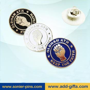 Custom Circle Lapel Pins,Raised Logo Soft Enamel Badges No Moq,Pins  Manufacturer - Buy Raised Logo,Circle Lapel Pin,Pins Manufacturer Product  on