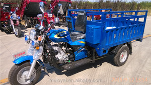 cargo tricycle for africa tipper tailer hydraulic 3 wheel motocycle