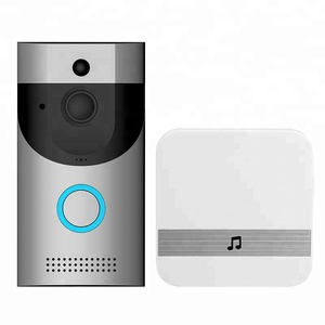 Factory sale Smart WiFi Video Doorbell Camera Visual Intercom with Chime Night vision IP Door Bell Wireless Home Security Camera