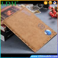13 Universal Retro Tablet Flip Envelope Pouch For Apple iPad Pro/MacBook Air/MacBook Vintage Laptop Leather Sleeve Phone Case