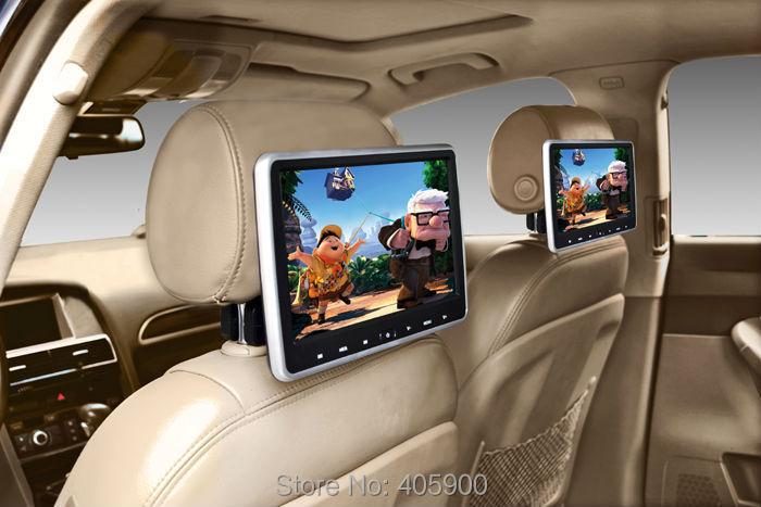 2pcs Lot Hdmi Diy Installl 10 1 Inch Hd Headrest Car Dvd