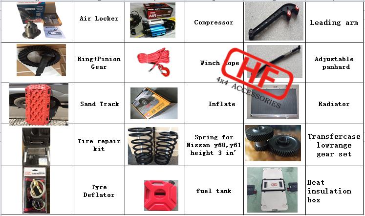 HF Best quality e locker ET132 auto  4x4 off-road refit differential locker