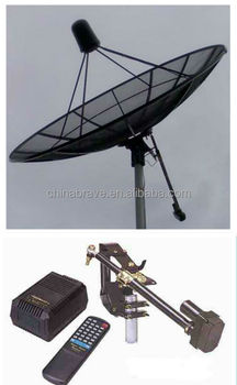 Pole Polar Mount Satellite Antenna Aluminum Type 3m
