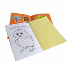 Customized coloring printing hardcover short english story book for kids