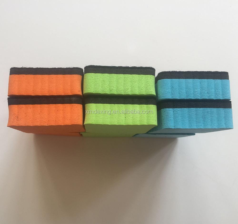 Magnetic whiteboard eraser/ Square dry eraser/Magnetic EVA eraser