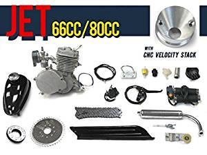 Jet 66cc/80cc Bicycle Engine Kit Gas Motorized Bicycle