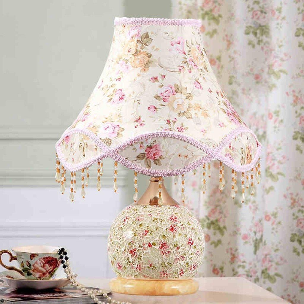 WENBO HOME- Bedside Lamp Bed Bedroom Lamp Creative Lamp Bedside Lamp Modern Night Light Wedding Table Lamp -Desktop lamp