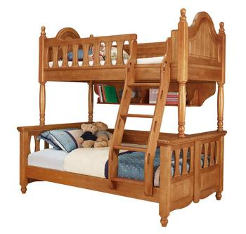 Durable Antique Luxury High Quality Wooden Kids Bedroom Furniture Children Bunk Beds With Storage
