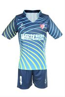 Healong 3D sublimation put your name sublimated printing Soccer Clothing China RIB KNITTING