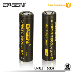 18650 3200mah 40a li-ion battery cell 3.7v 2.2ah rechargeable e cig battery 18650 for logic e cig