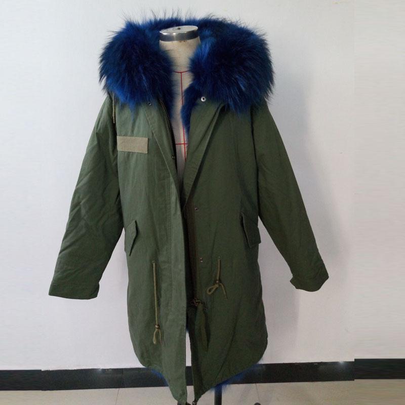 Achat manteau en renard