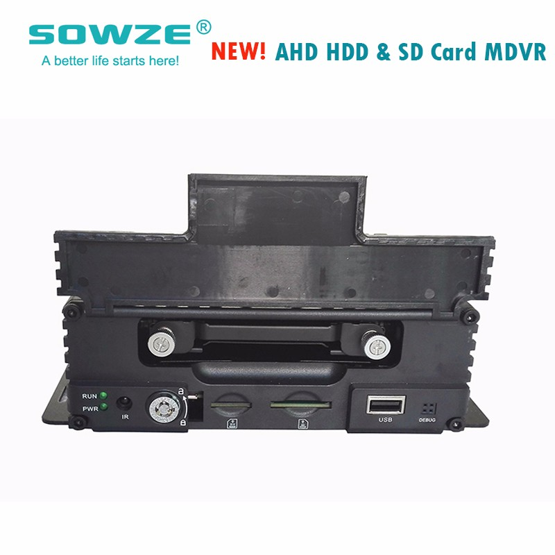 Manufacturer Customized Garbage Truck 1*2TB HDD & 1*256G SD card Supported 8 Channel Car Dvr System Support 8 Cameras