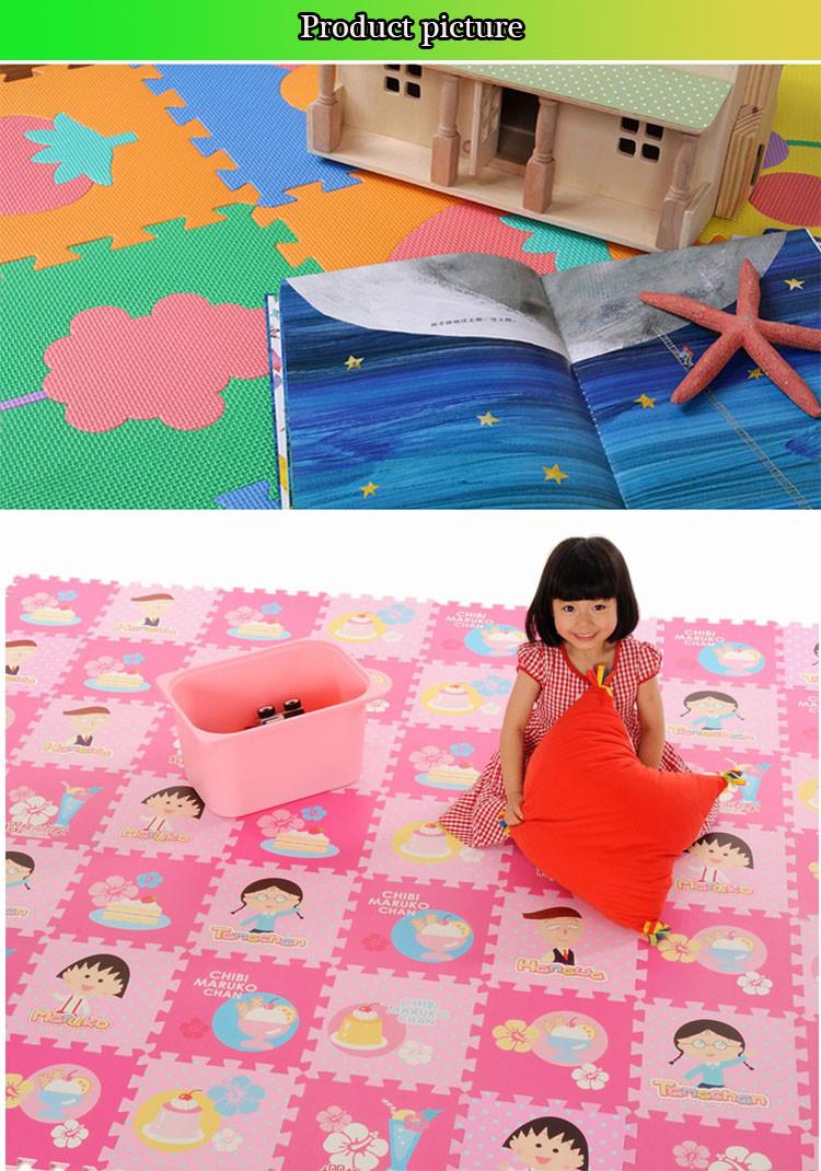EVA Foam Alphabet Puzzle Tikar untuk Anak anak Berwarna warni EVA Lembar