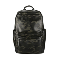 New fashion design men waterproof leather travelling backpack