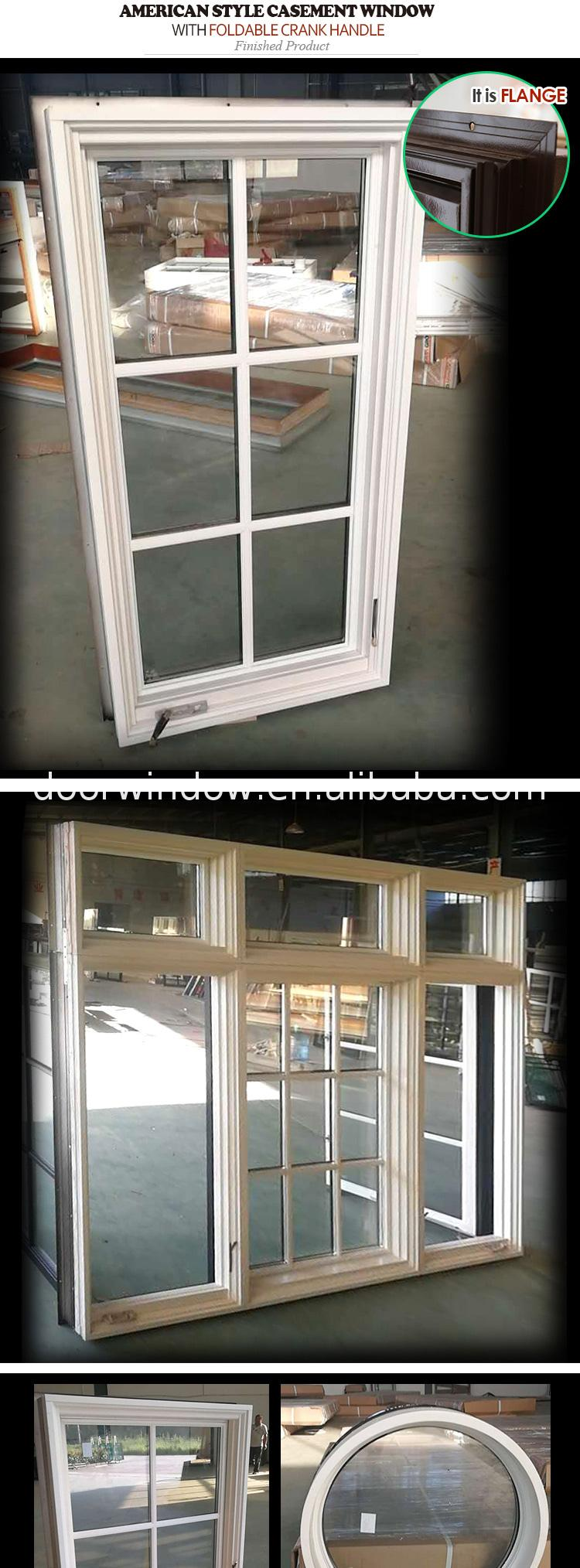 The newest white color windows casement window