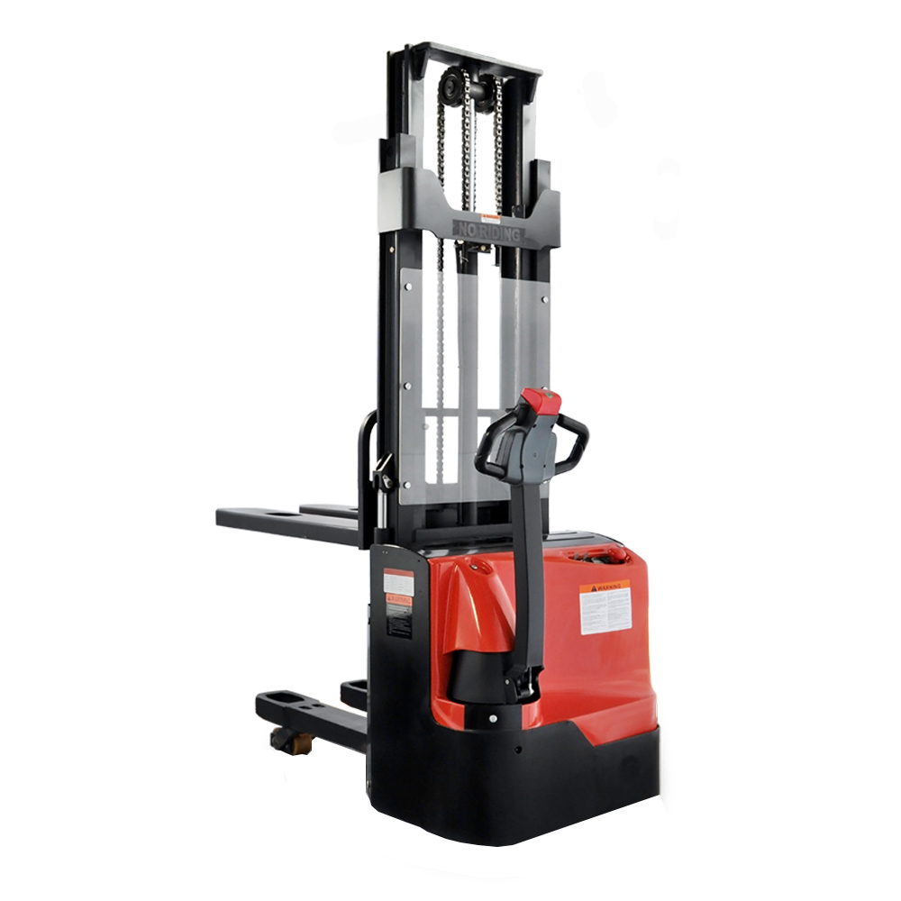 lift platform standing type reach stacker price for sale china made 2t reach stacker