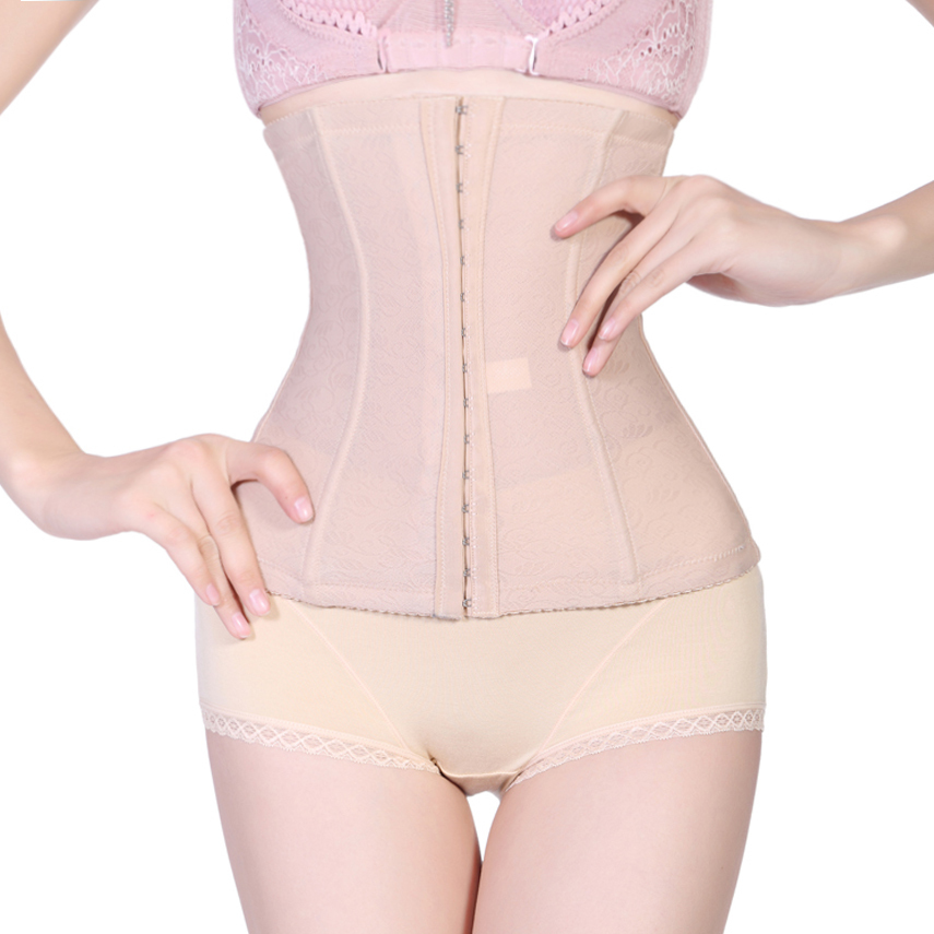 c1844852e2d87 Get Quotations · New western waist training ladies wearing corsets steel  boned Trainer women slimming Body Shaper weight loss