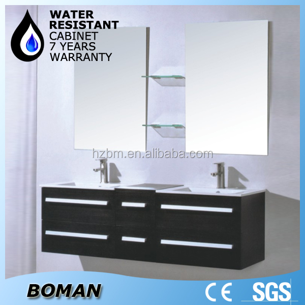 modern fashion chinese double sink bathroom vanity top