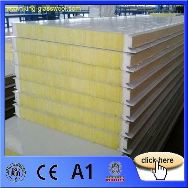 Prefabricada casa prefabricada panel s ndwich de fibra de for Paneles de fibra de vidrio