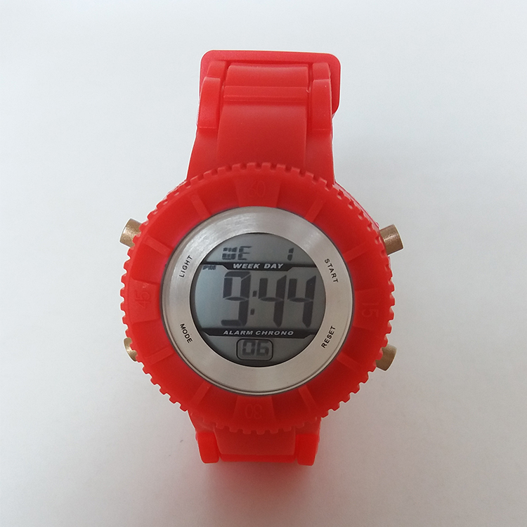 Cheap price silicone digital bracelet watch Wholesale