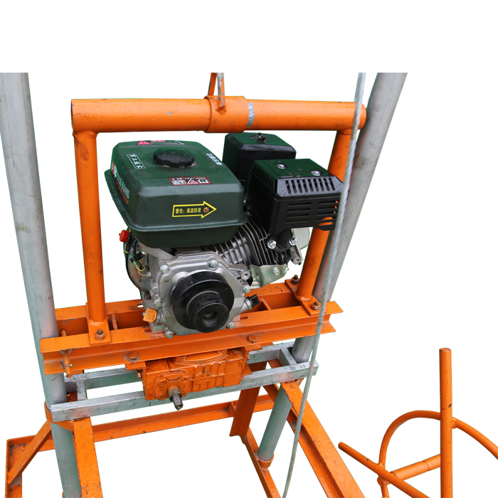 QYJ-100 China factory portable used borehole water well drilling machine for sale