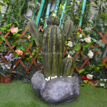 Outdoor Decorazione Vegetale <span class=keywords><strong>Verde</strong></span> Cactus Scultura Fontana