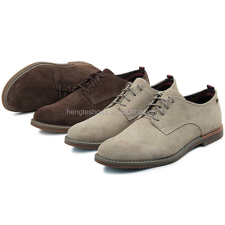 Men suede leather shoes casual shoes with soft sole