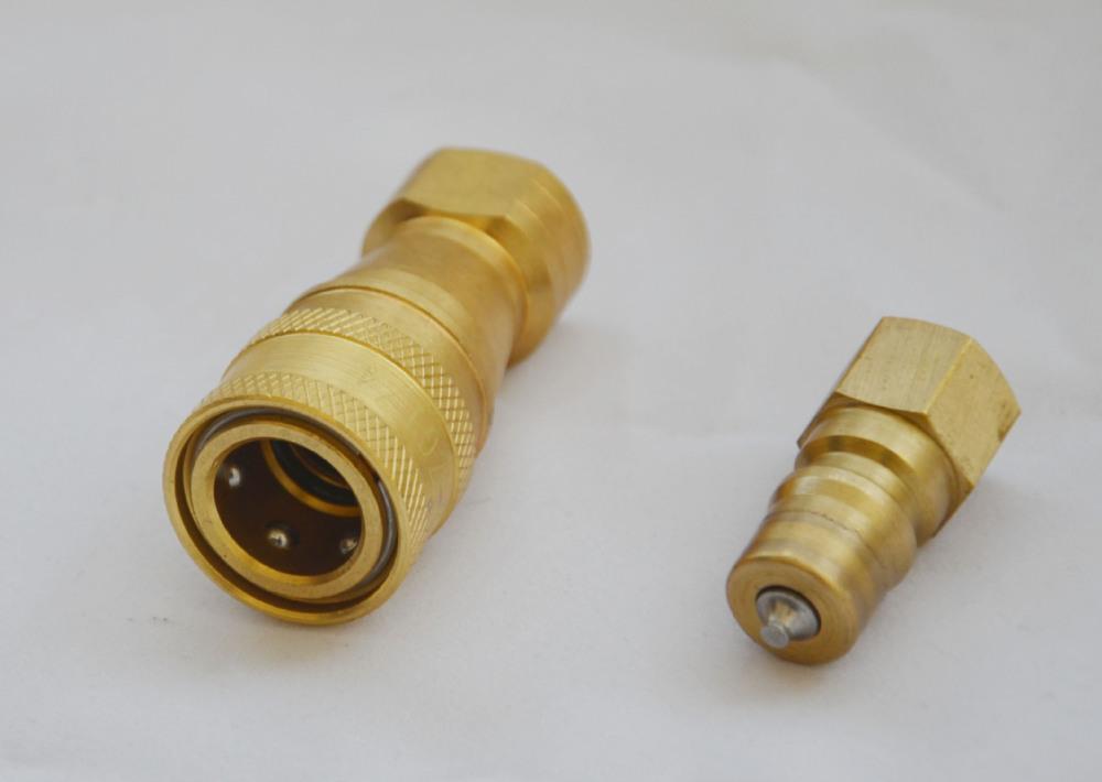 Kzd acoplamiento r pido de lat n agua conector r pido para for Manguera de agua