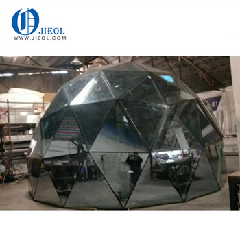 2019 jieol transparent glass wall dome geodesic igloo for sale