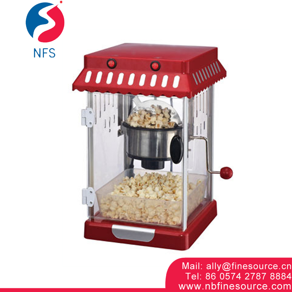 Classic Design Small Home Electric Hot Air Popcorn Maker