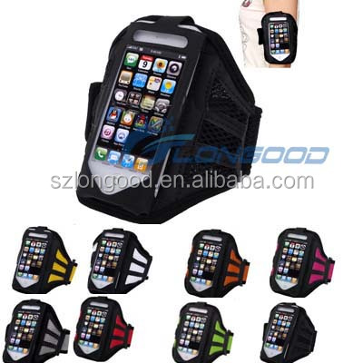 Popular outdoor sport running cell phone armband for iphone