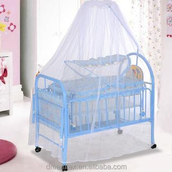 Kinderbedjes Te Koop.Hot Koop Hoge Kwaliteit Baby Wielen Bed Met Muziekdoos Kinderbedje