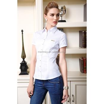 6ae6dc681326 La Última Ropa Para Mujeres De Moda Oficina Diseño Uniforme Camisa Formal  Para Damas Mujer Ropa - Buy Ropa Para Mujer,Camisa Uniforme De Oficina Para  ...