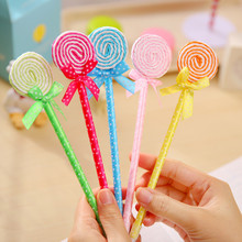 Fashion 2016 Wholesale Gift Promotional School Lolly Ballpoint pen OEM/ODM FBP0034