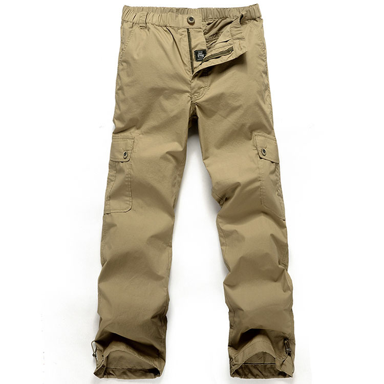 a118ef1fa3 Get Quotations · New 2015 new fashion mens Brand solid cotton baggy cargo  trousers waterproof fast dry thin men