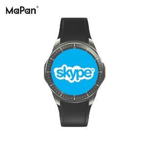 MaPan CE ROHS , 3G Wifi GPS Android MTK6580 Mobile phone smart watch MW10