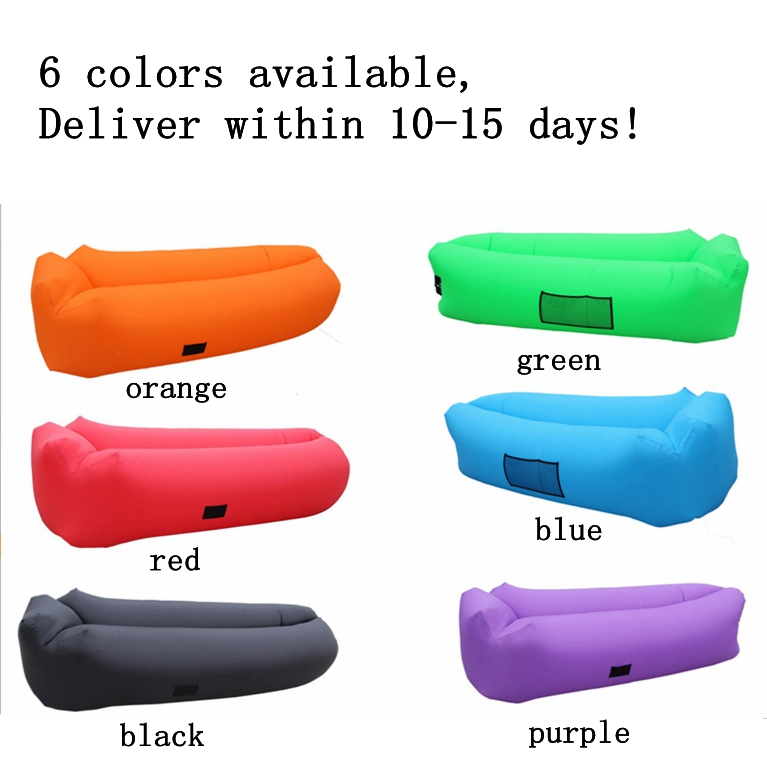 wholesale Portable Water Proof Anti-Air Leaking Design-Ideal Couch lazy bag inflatable lounger air bag sofa