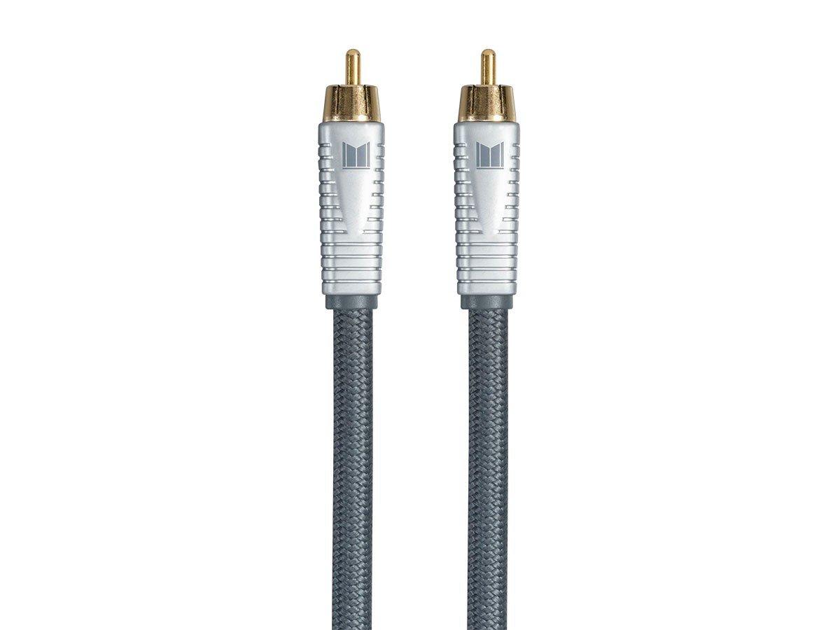 VooDoo A//V Audio Video RCA Cable 75 ohm .5 Meter 1.6 ft OFC Copper 12Volt Distributors