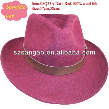 Making Perfect Red Safari Folding Fan Hats 6559486c6ba