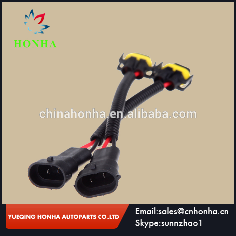 2 Pin Male Female Connector H11 H9 H8 Wire harness