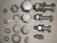 high strength hex bolt nut and washer