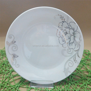 New types ceramic dinner plates with gold flower cheap white dinner plates for weddings & New Types Ceramic Dinner Plates With Gold FlowerCheap White Dinner ...